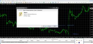 установка индикатора на график5